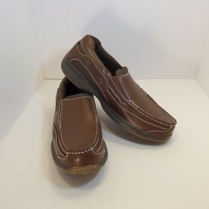 Dr. Scholl's Leather Slip-On Loafer Boat Shoes
